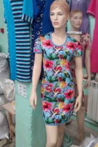 Платье 218С(р-ры: 88-128состав: хлопок 100%)