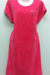 Платье 227С(р-ры: 88-116состав: велюр+вышивка)