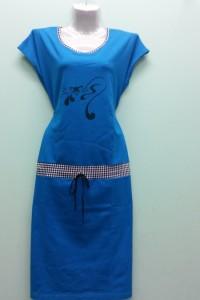 Платье 229С(р-ры: 88-112состав: х/б 95%, эластан 5%)